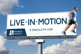 Live In Motion Orthopaedic Associates Outdoor Billboard