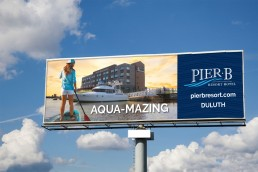 Outdoor Aqua-mazing Pier B Billboard