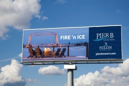 Fire N Ice Pier B Billboard