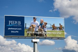 Unexpected Stay Pier B Billboard