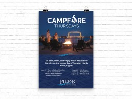 Campfire Tuesdays Poster