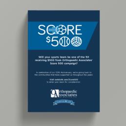 Orthopaedic Associates of Duluth Score 500 Poster