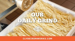 clyde iron works our daily grind brand ad