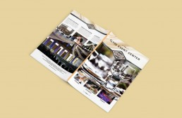 clyde iron works print brochure event center guide