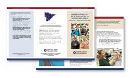 Northland Foundation Tri-fold brochure.