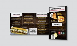 Steak Escape Full Menu Designs.
