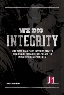 united piping inc we dig integrity brand ad