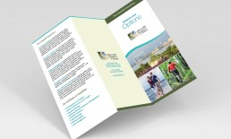 Lakewalk Surgery Center Brochure Design