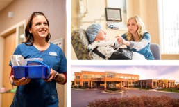 Lakewalk Surgery Center Employee Image Collage.