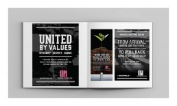 United Piping Incorporated Print Ad Designs.