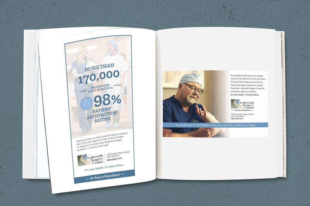 Lakewlak Surgery Center - Mock Print Ad